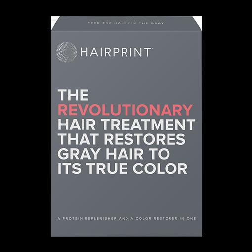 HAIRPRINT Re-pigment Color Restorer for Men | Kit-1: DARK